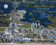 Topsail Photos - Heart of Surf City by East Coast Barrier Islands Betsy A Cutler