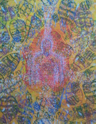 Serigraph Originals - Heart Vortex by Dennis Goodbee