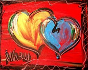 Black History Paintings - Heartd by Mark Kazav