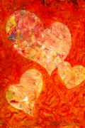 Heartland Paintings - Heartfelt 2 by Marion Rose