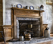Stone Floor Photos - Hearth Stone by Peter Chilelli