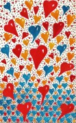 Special Occasion Painting Posters - Hearts For You Poster by Joy Bradley                   DiNardo Designs