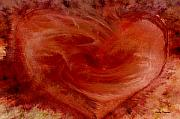 Red Heart Art - Hearts of Fire by Linda Sannuti