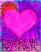 Daydream Mixed Media Acrylic Prints - Heartww004 Acrylic Print by Patricia Marie Amber Sorenson