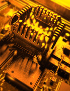 Processor Prints - Heat Sink Print by Mark Sykes