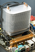 Processor Prints - Heat Sink Print by Paul Rapson