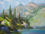 Markleeville Prints - Heather Lake Print by Bonita Paulis