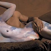 Nudes Digital Art - Heaven and Earth by Fern Logan