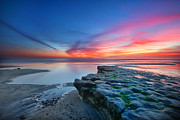 Long-exposure Prints - Heaven and Earth Print by Larry Marshall
