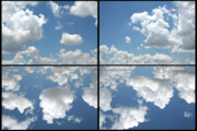 Clouds Digital Art Prints - Heaven Print by James W Johnson