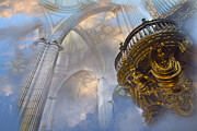 Spiritualism Art - Heavenly Cathedral by John  Bartosik