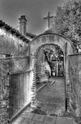Bryan Steffy Prints - Heavenly Doorway bw Print by Bryan Steffy