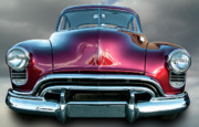 Car Art - Heavenly Oldsmobile by Kurt Golgart
