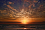 Jacksonville Digital Art Prints - Heavenly Sky Print by Robert  Adelman