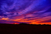 Country Scene Photos - Heavens On Fire by Emily Stauring
