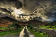 Mourne Prints - Heavens Path Print by Kim Shatwell-Irishphotographer