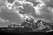 Montana Digital Art - Heavens Peak Glacier National Park by Larry Darnell