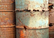 Barrels Prints - Heavy Corrosion Print by Yali Shi