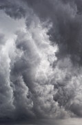 Threats Prints - Heavy grey clouds in a stormy sky Print by Sami Sarkis