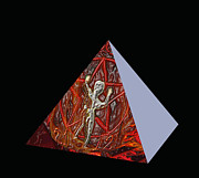 Pyramid Mixed Media - Heavy Rush by Kevin Caudill