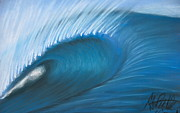 Wash Pastels - Heavy Wave by Alec  Pydde