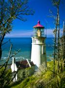Lighthouse Art - Heceta Lighthouse I by Dale Stillman