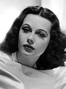 Hedy Framed Prints - Hedy Lamarr, 1938, Photo By Clarence Framed Print by Everett