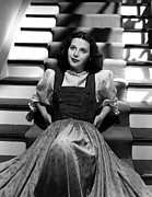 Puffed Sleeves Framed Prints - Hedy Lamarr, 1940, Photo By Clarence Framed Print by Everett