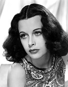 Hedy Framed Prints - Hedy Lamarr, C. Early 1940s Framed Print by Everett