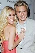 Heidi Posters - Heidi Montag And Spencer Pratt Poster by Everett