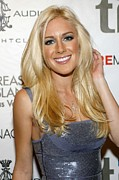 Lip Gloss Prints - Heidi Montag At Arrivals For Heidi Print by Everett