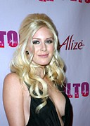 31st Prints - Heidi Montag At Arrivals For Perez Print by Everett