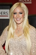 Famous Book Posters - Heidi Montag At In-store Appearance Poster by Everett