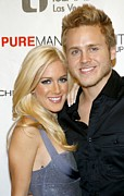 Heidi Posters - Heidi Montag, Spencer Pratt At Arrivals Poster by Everett