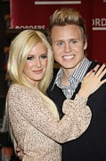 Famous Book Art - Heidi Montag, Spencer Pratt At In-store by Everett