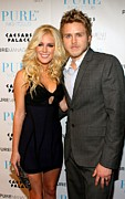 James Atoa Framed Prints - Heidi Montag, Spencer Pratt Framed Print by Everett
