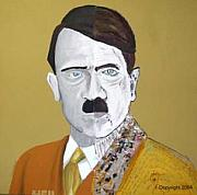 Hitler Paintings - Heil by Sardine and Tobleroni The Monkey in the Box 