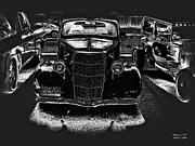 Silver And Black Prints - Heinz 57 Hot Rod Print by Jayne Logan