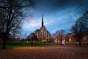 University Of Pittsburgh Framed Prints - Heinz chapel Framed Print by Emmanuel Panagiotakis