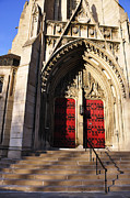 Pittsburgh Art - Heinz Chapel Main Entrance by Thomas R Fletcher