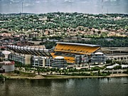 Pittsburgh Steelers Posters - Heinz Field 3 Poster by Arthur Herold Jr