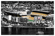 Goal Post Framed Prints - Heinz Field Framed Print by Scott  Wyatt