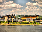 Three Rivers Stadium Prints - Heinz HDR Print by Arthur Herold Jr