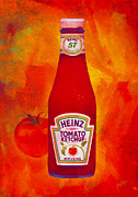 Heinz Tomato Ketchup Posters - Heinz Tomato Ketchup Poster by Nop Briex