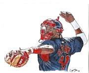 Cleveland Indians Paintings - Heir Apparent by Jason Yoder