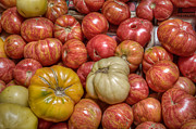 Food Market Posters - Heirloom Tomatoes Poster by Scott Norris