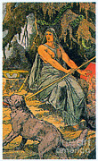 Norse Mythology Prints - Hel, Norse Queen Of The Dead Print by Photo Researchers