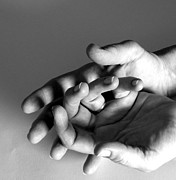 Hands Photos - Held Gently by Betsy Baldwin-Owens