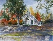 Helen Originals - Helen Georgia Church by Gloria Turner