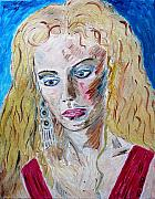 Troy Paintings - Helen of Troy by Valerie Ornstein